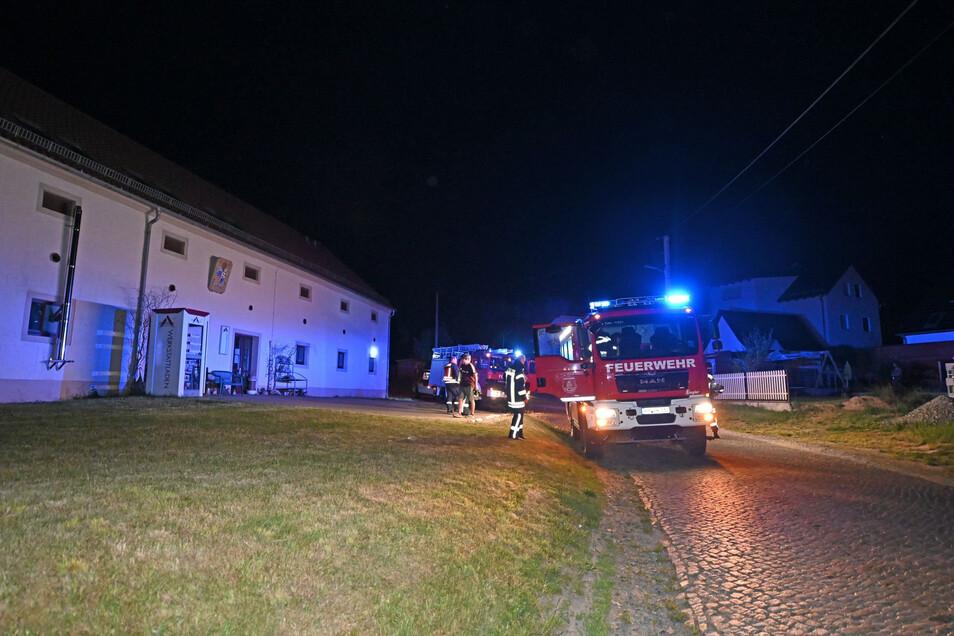 In der Nacht zu Sonntag rückte die Feuerwehr ins Kloster nach Panschwitz-Kuckau aus. Zu löschen gab's dort aber nichts.