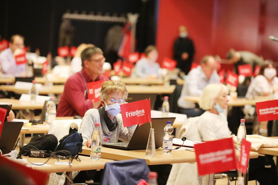 Der Parteitag wurde zur Hälfte online abgehalten.