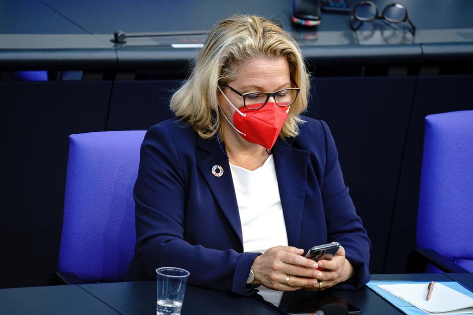 Svenja Schulze (SPD), Bundesministerin für Umwelt, Naturschutz und nukleare Sicherheit, hat das Klimaschutzgesetz vorangetrieben.