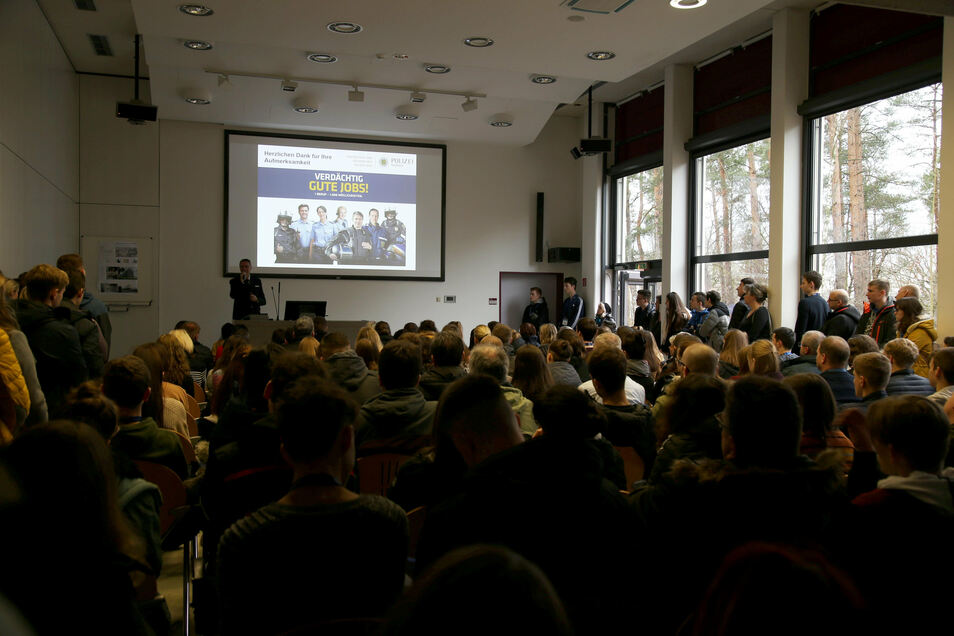 Anfang Januar kamen Hunderte Interessierte zum Hochschultag der sächsischen Polizei.