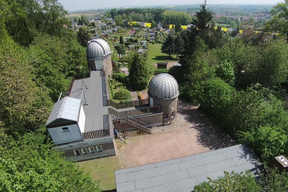 Das Gebäude der Sternwarte in Hartha ist noch in Schuss, doch die Gäste fehlten 2020. In diesem Jahr soll es besser werden.