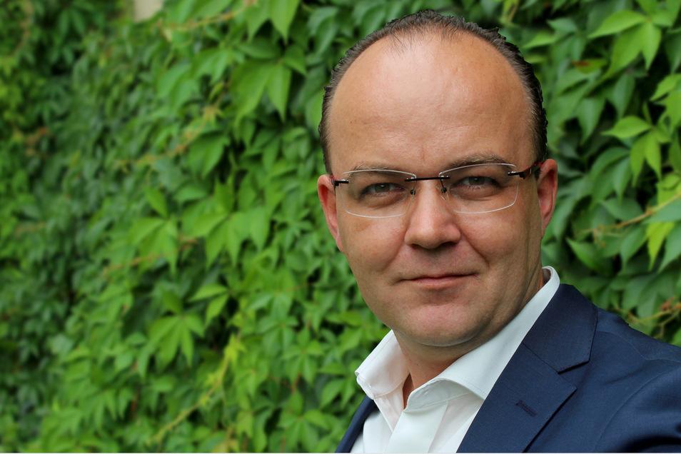 Alexander Lasch, Professor für Linguistik, doziert an der TU in Dresden