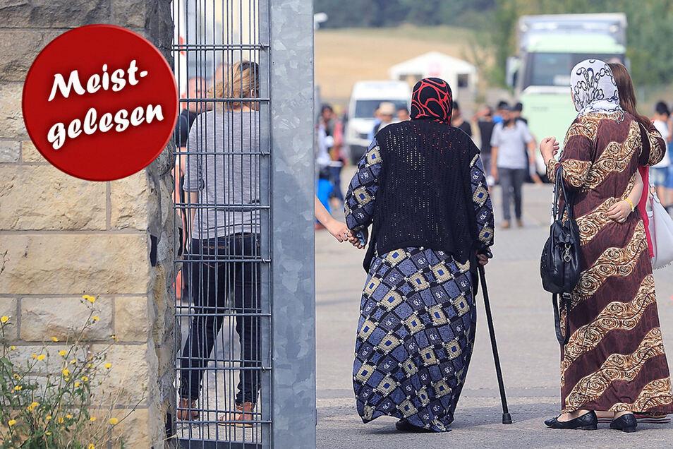 In Dresden werden wieder mehr Flüchtlinge registriert.