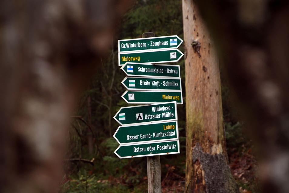 Der durch die gesamte Sächsische Schweiz verlaufende Malerweg soll Vorrang erhalten.