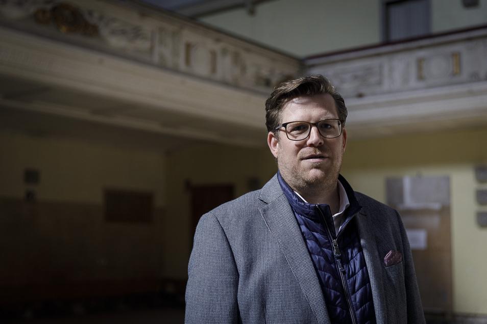 Benedikt M. Hummel ist Geschäftsführer des Görlitzer Kulturservice im Vorstand des Aktionskreises.
