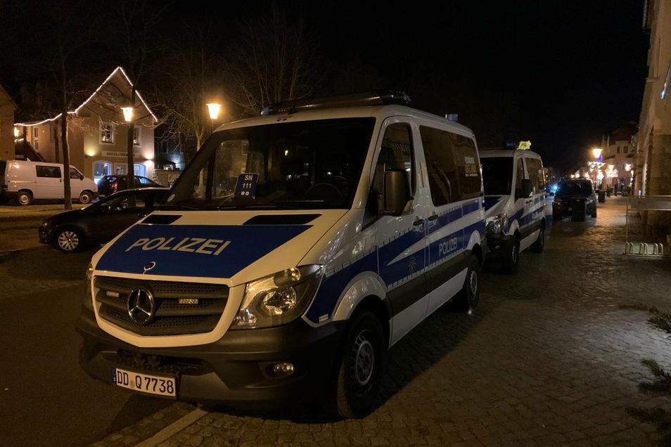 Am Wochenende gab es massive Kontrollen in Radebeul - von der Bundespolizei, dem Revier Meißen und dem Ordnungsamt der Stadt.