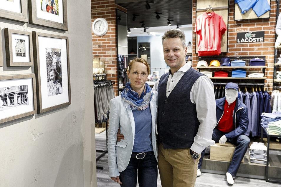 """Georg Schwind und seine Lebenspartnerin Britta Hänel leiten das Familienunternehmen """"Schwinds Erben"""" in dritter Generation."""