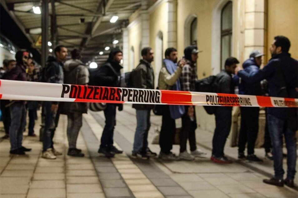 Am Sonntagabend waren 721 Asylbewerber in Freiberg angekommen.