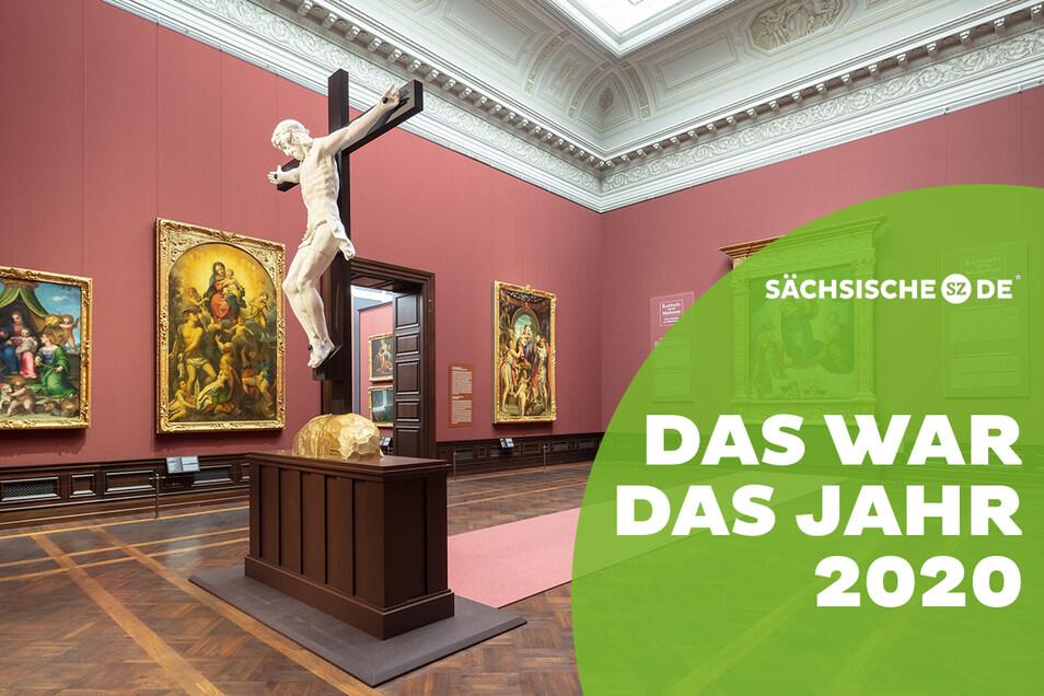 """Seit November kann man digital durch die Galerie Alte Meister und die neue Sonderausstellung """"Raffael und die Madonna"""" spazieren, die die Sixtina in einer Neuinszenierung theologisch in ein anderes Licht rückt."""