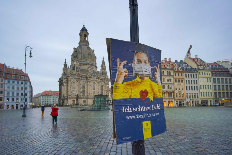 Die Corona-Regeln des Landes reichen Dresden in Teilen nicht aus.