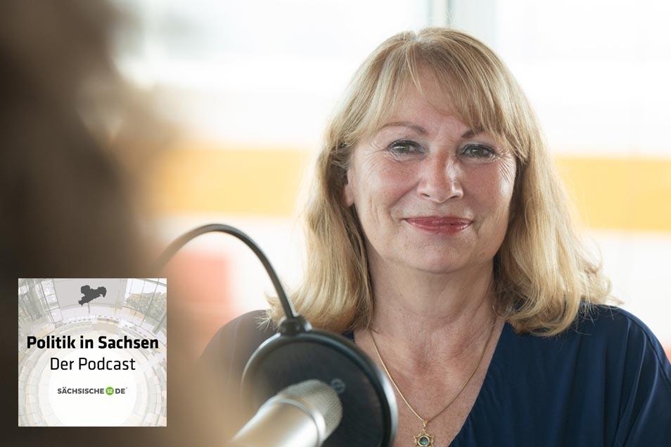 """Sachsens Gesundheitsministerin war zu Gast im Podcast """"Politik in Sachsen""""."""