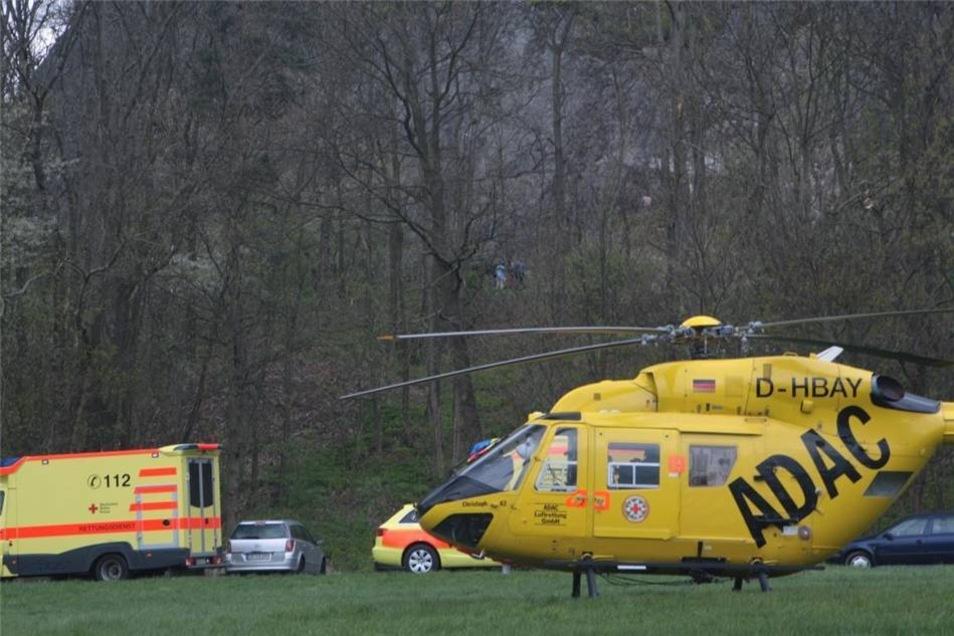 Am Ostermontag hat sich am Spitzberg in Oderwitz ein schwerer Kletterunfall ereignet.