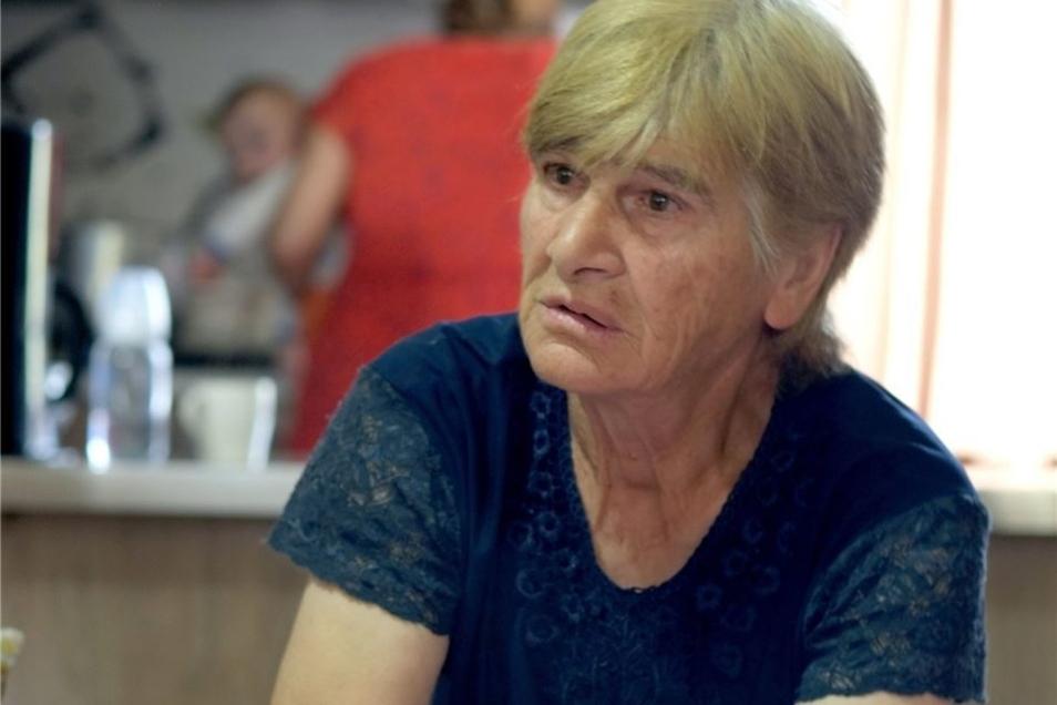Die Hoffnung stirbt zuletzt: Isolda Schitischwili schwelgt in Erinnerungen an die alte Heimat.