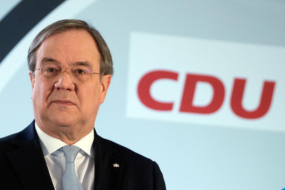 1Armin Laschet, Ministerpräsident von Nordrhein-Westfalen und Vorsitzender der CDU