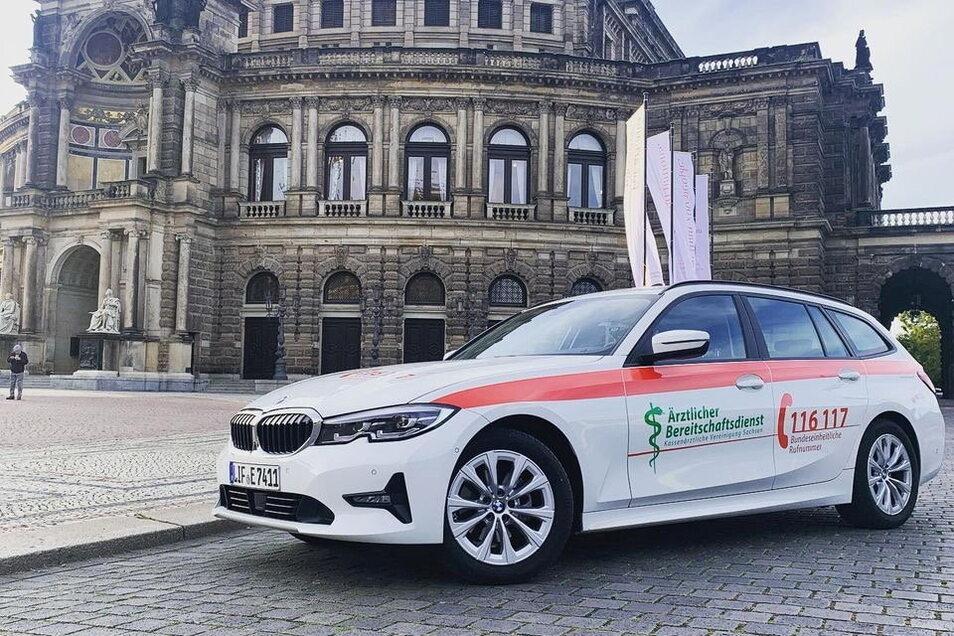 Mit solch einem Fahrzeug der Helfenden Franken sind die Ärzte aus der Region Döbeln ab dem 1. April während ihres Bereitschaftsdienstes unterwegs.