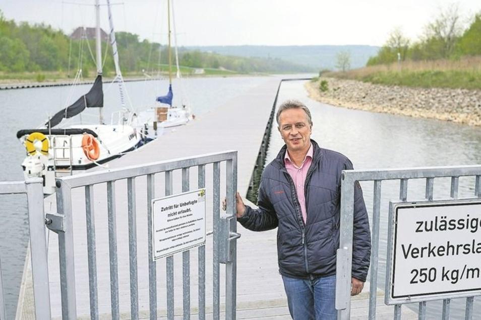 Nur wenigen Bootsbesitzern musste der Hafen am Berzdorfer See im vergangenen Jahr aufgeschlossen werden. Foto: Pawel Sosnowski