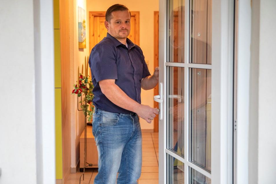 Steffen Spata vermietet in Oybin Ferienwohnungen. Seit November stehen sie leer.