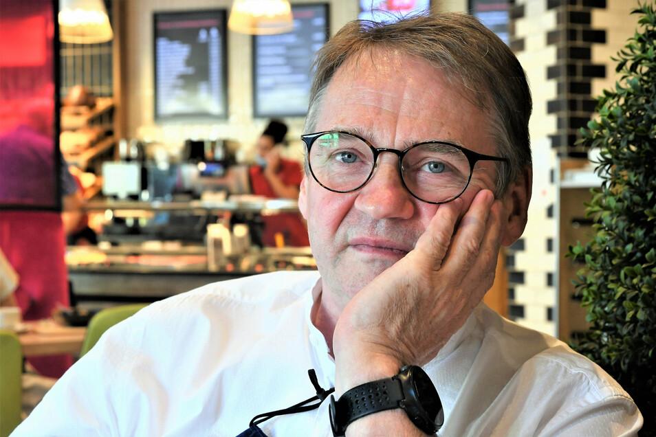 Sorgenvoll: Martin Steude, Geschäftsführer der Festivalkultur Sächsische Schweiz gGmbH.