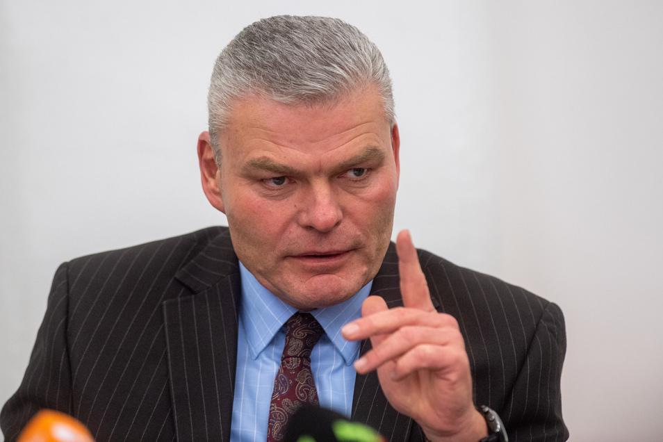 Holger Stahlknecht ist Chef der CDU in Sachsen-Anhalt und Innenminister des Landes.