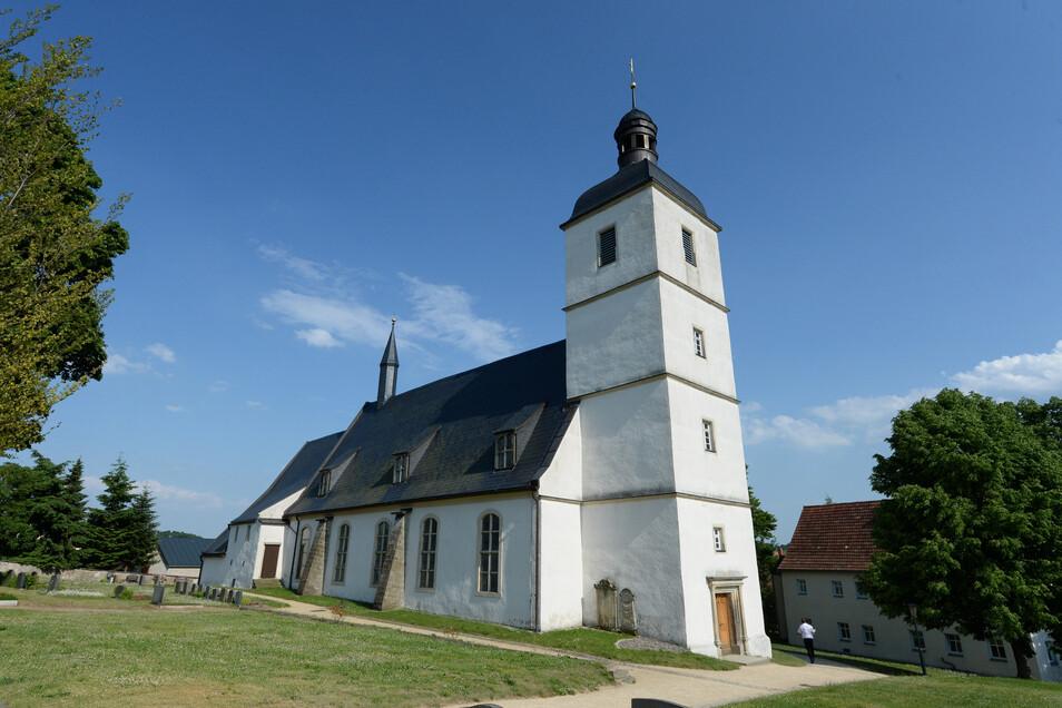 Die Orgelkonzertreihe in der Kirche Reinhardtsgrimma beginnt in diesem Jahr erst im Juni.