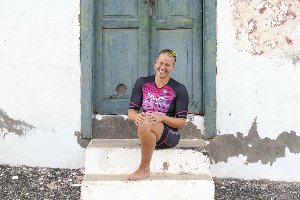 Sie ist dann mal weg. Paralympics-Siegerin Christiane Reppe zieht sich für vier Wochen aus dem Online-Leben zurück. Es ist eine Art Selbstversuch.