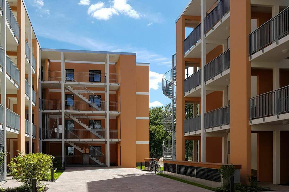 Durch den Neubau sind 55 barrierearme Wohnungen entstanden. Generalplaner war die AIZ Bauplanungsgesellschaft mbH aus Zittau.