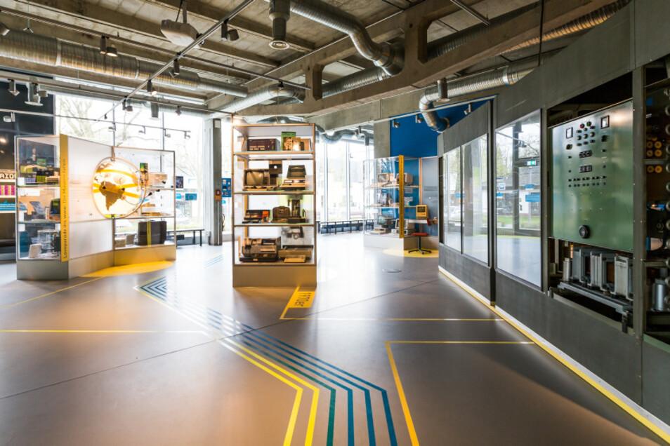 Teile der leerstehenden Ladenzeile in der Bonhoefferstraße wurden zum Computermuseum ZCOM umgebaut – dank Städtebauförderung.