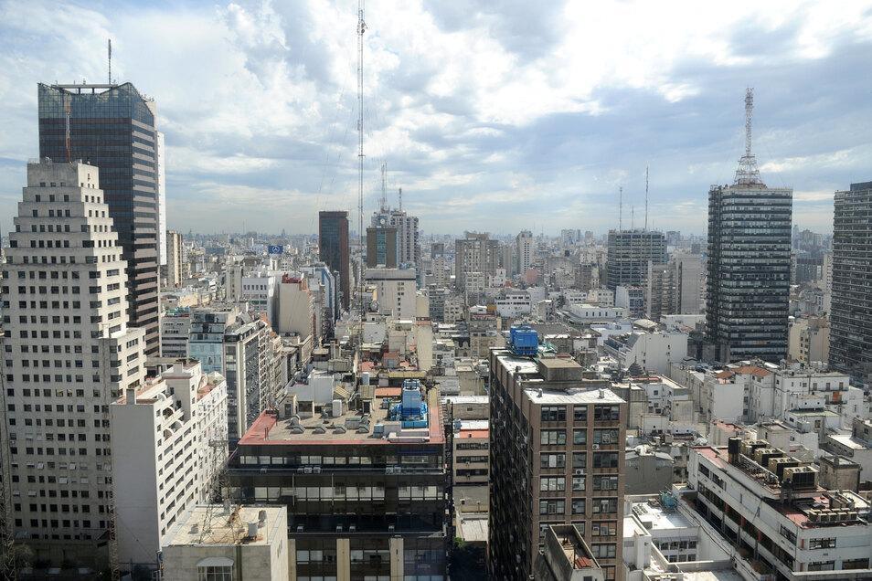 Blick auf Buenos Aires: In der Millionenmetropole fiel stundenlang der Strom aus.