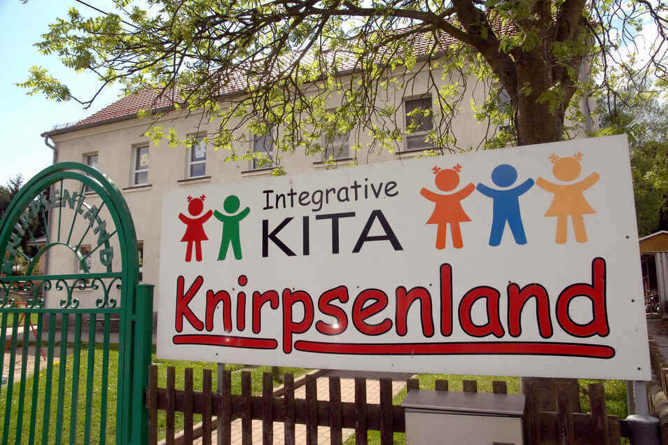 """In der Kita """"Knirpsenland"""" in Oderwitz war am Donnerstagmittag der Blitz eingeschlagen."""