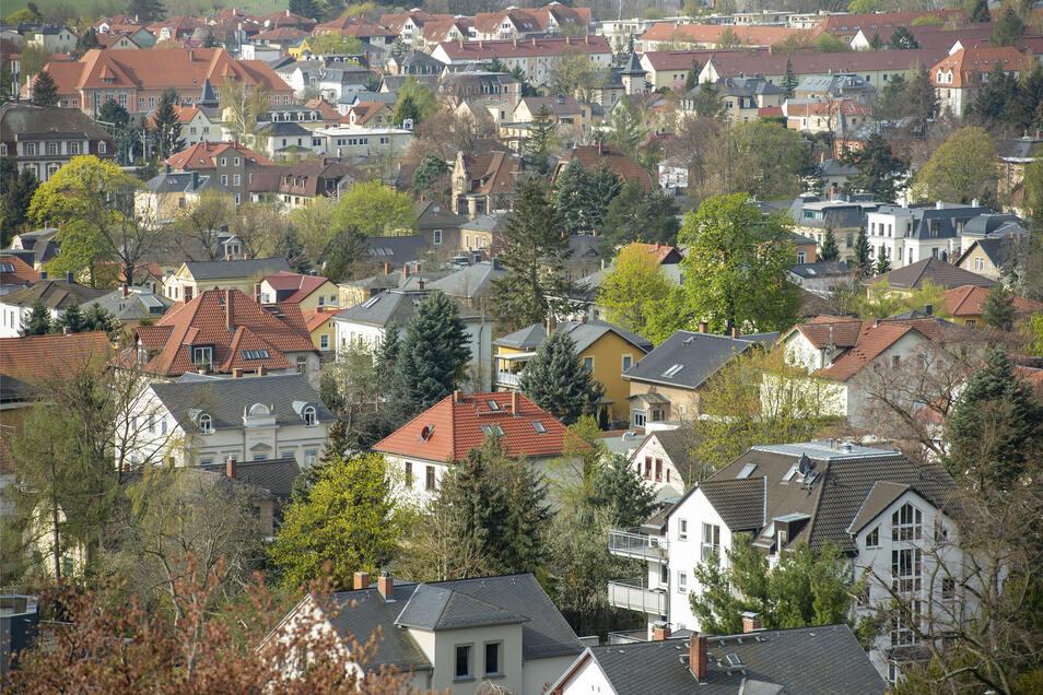 Feine Villenlage in Radebeul. Hier werden die geringsten Preisschwankungen erwartet.