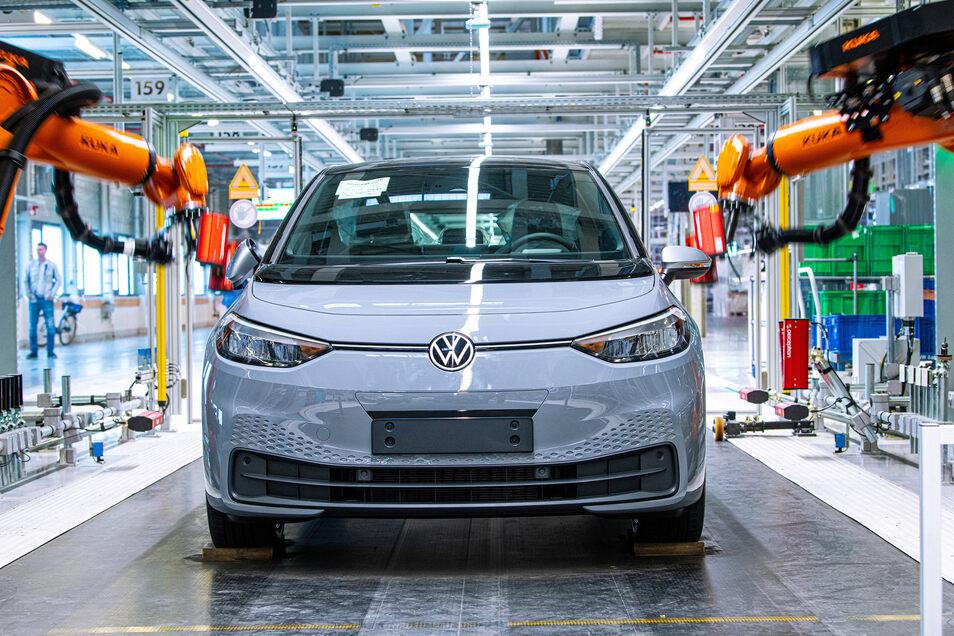 VW startet Auslieferung der ersten ID.3 Anfang September