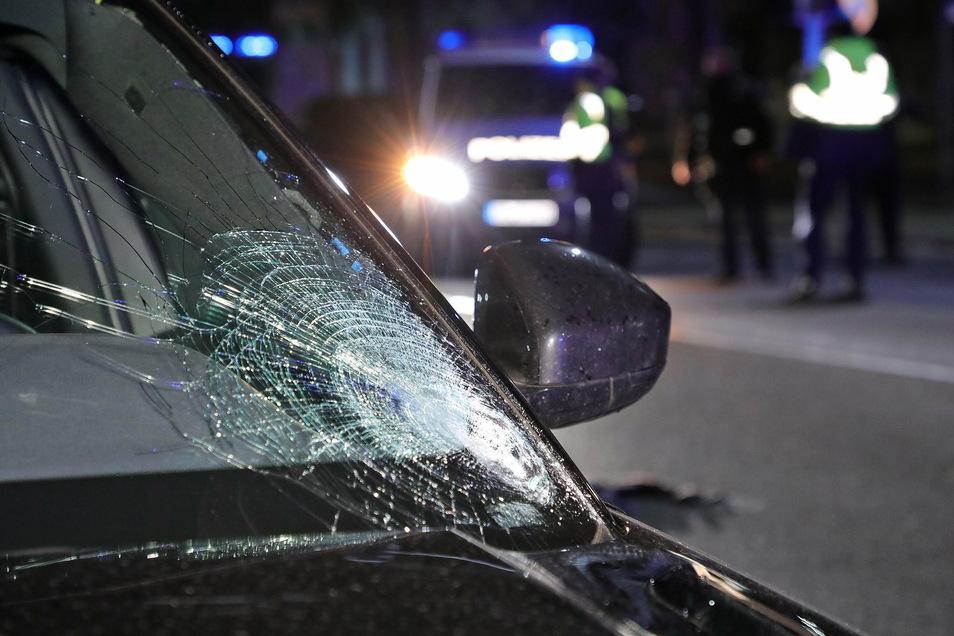 Glas geht bei Unfällen am häufigsten zu Bruch.