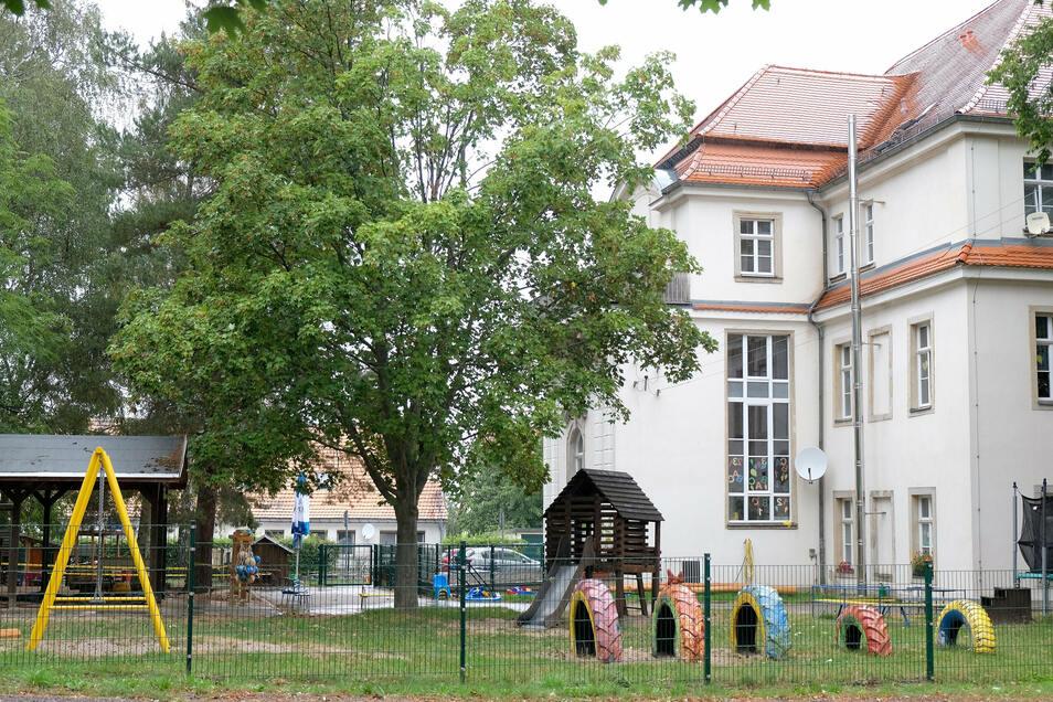 Die Kindertagesstätte in Löthain, die von den Johannitern betrieben wird.