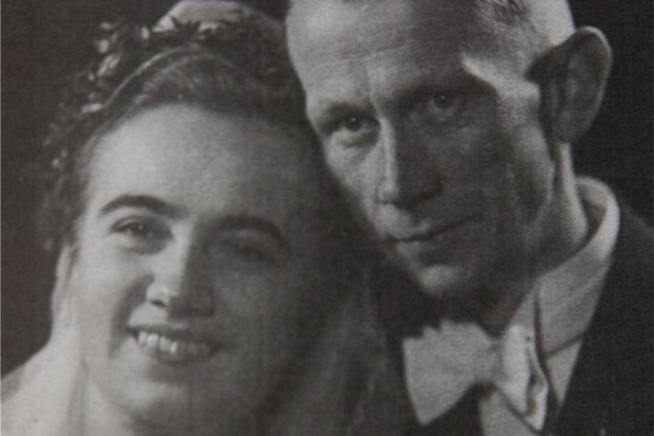 1944 heiratete Karin Zoepffel ihren Mann Erich noch in Posen.