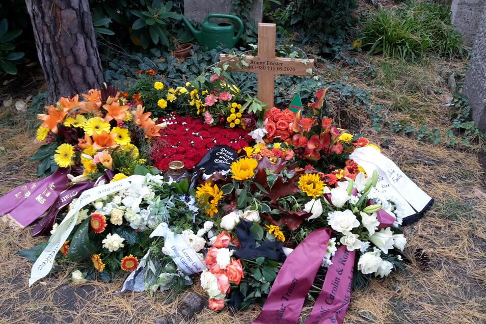 Im Urnenhain Tolkewitz fand Ronny Förster seine letzte Ruhe.