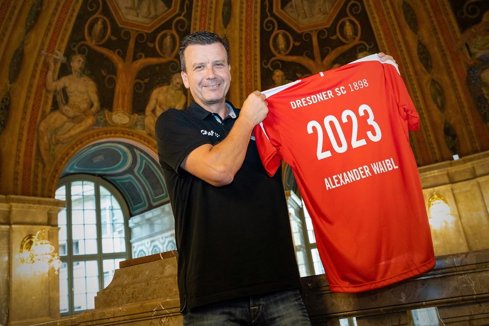 Bis 2023 oder eine Verbindung für die Ewigkeit? Alexander Waibl ist seit 13 Jahren beim DSC und 30 Jahre Trainer, aber nicht volleyballmüde, sagt er.