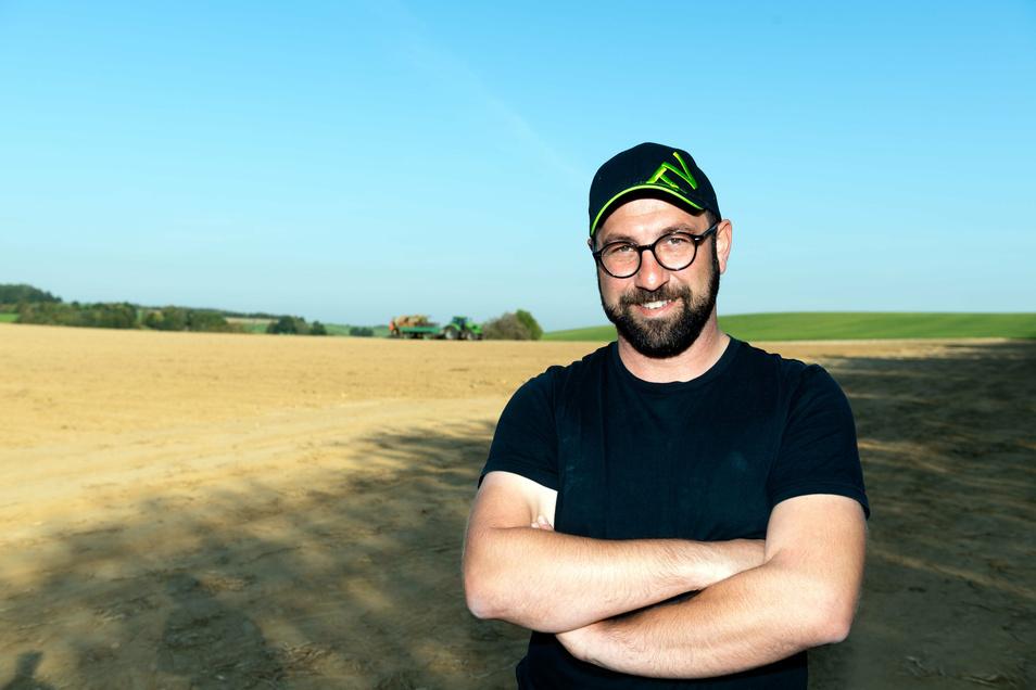 Marco Habendorf, Chef der Lausitzer Hügelland Agrar GmbH, hatte die Idee für das Projekt mit den Kita-Kindern.