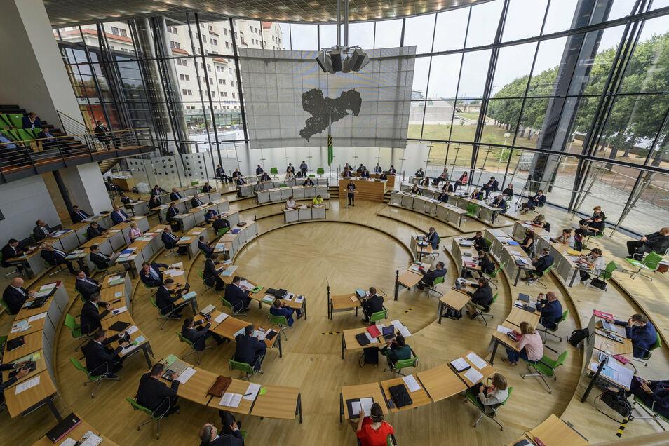 Die Diäten für Sachsens Landtagsabgeordnete sollen wieder steigen.