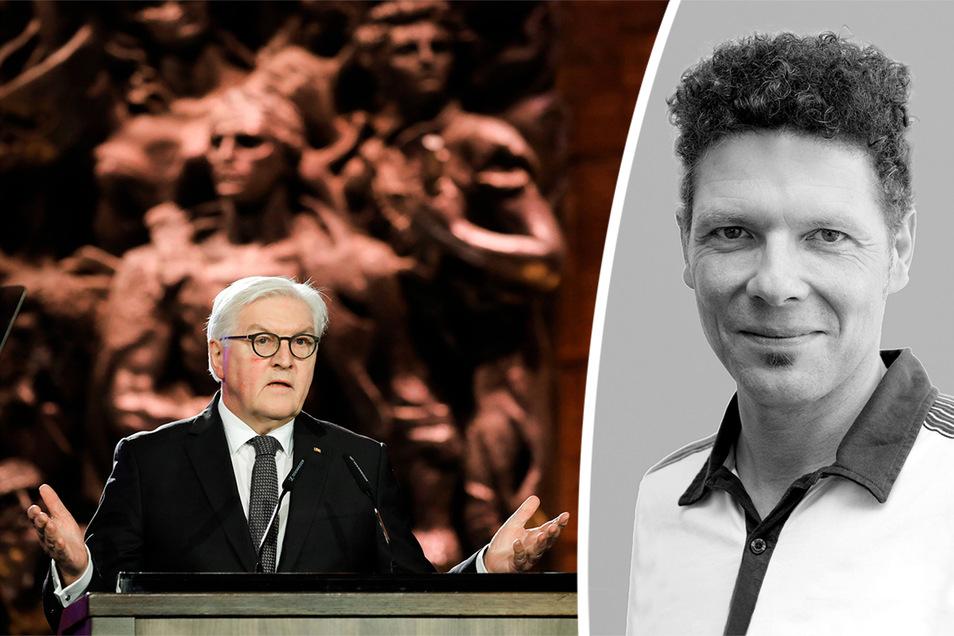 Bundespräsident Frank-Walter Steinmeier hielt am Donnerstag eine Rede in Jerusalem. SZ-Redakteur Oliver Reinhard meint, Worte allein reichen nicht.