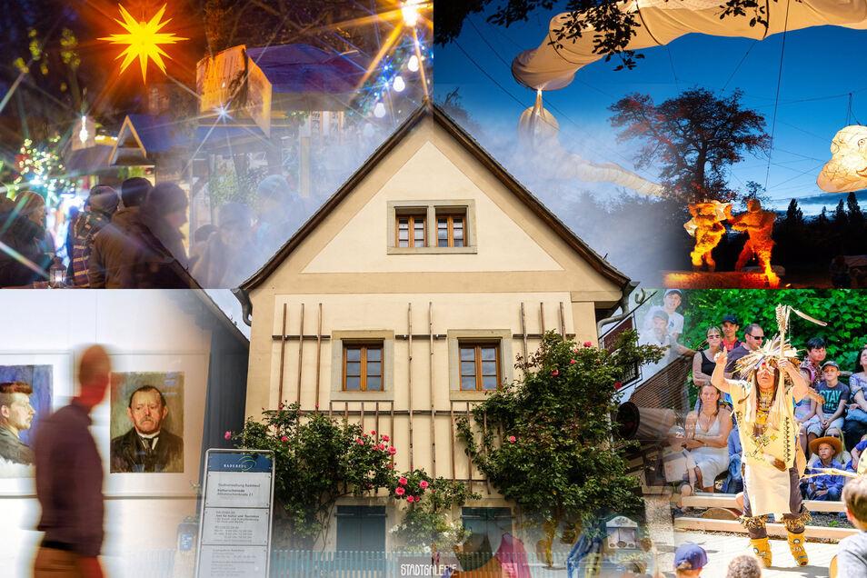 Weinfest, Stadtgalerie, Weihnachtsmarkt und Karl-May-Festtage liegen im Verantwortungsbereich des Radebeuler Kulturamtsleiters.