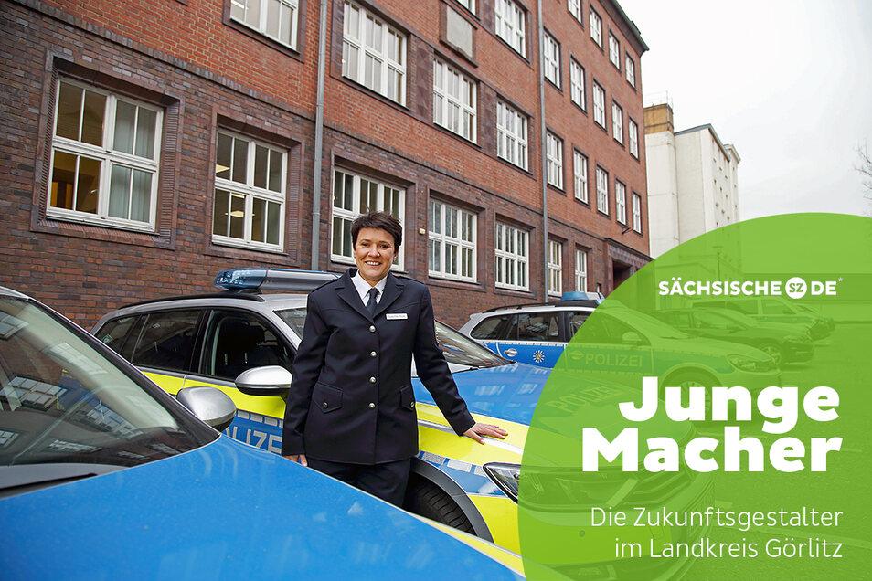Susanne Heise ist die neue Leiterin des Polizeireviers Görlitz.