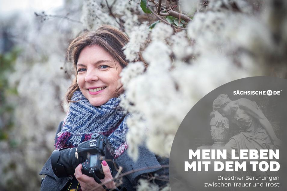 """""""Ein Glück, dass du da bist"""": Mit ihrer Kamera hilft Jana Maiwald Eltern dabei, ihren größten Verlust zu verarbeiten."""