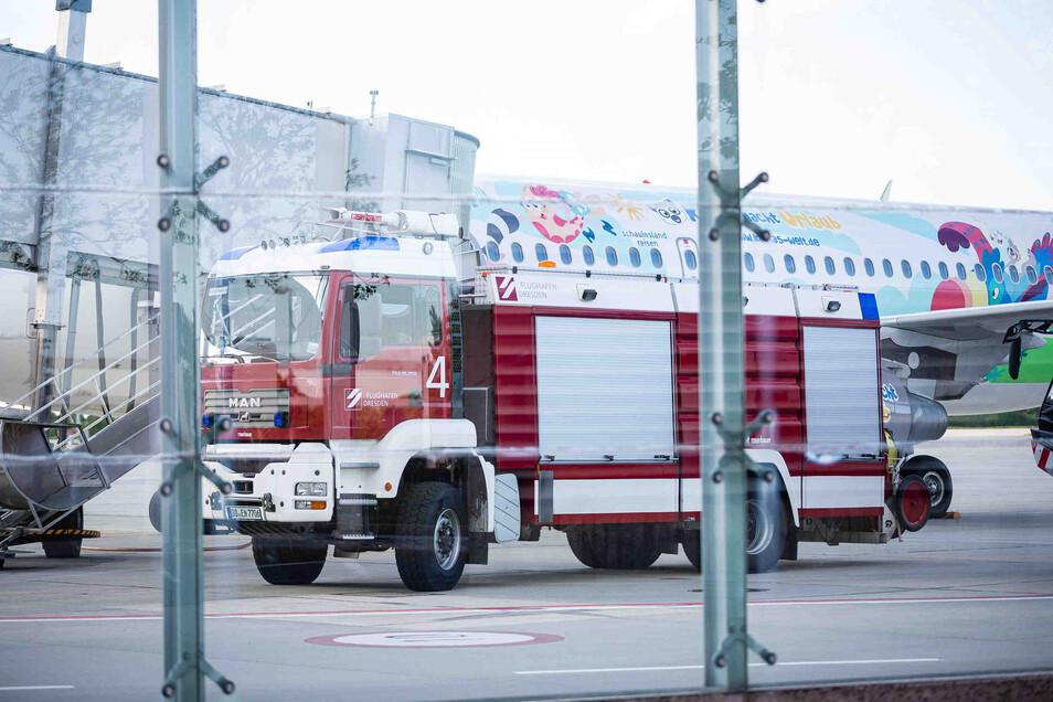 Ein Urlaubsflieger der Fluggesellschaft Sundair musste auf dem Weg von Dresden nach Rhodos wegen technischer Probleme wieder umkehren.