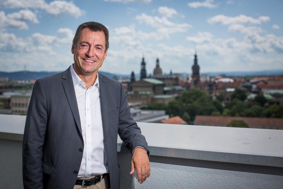 Der wohl künftige Dresdner FDP-Bundestabgeordnete Torsten Herbst möchte in die Regierung.