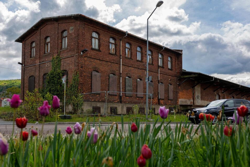Das alte Lagerhaus an der Umgehungsstraße wird in den kommenden Monaten saniert.