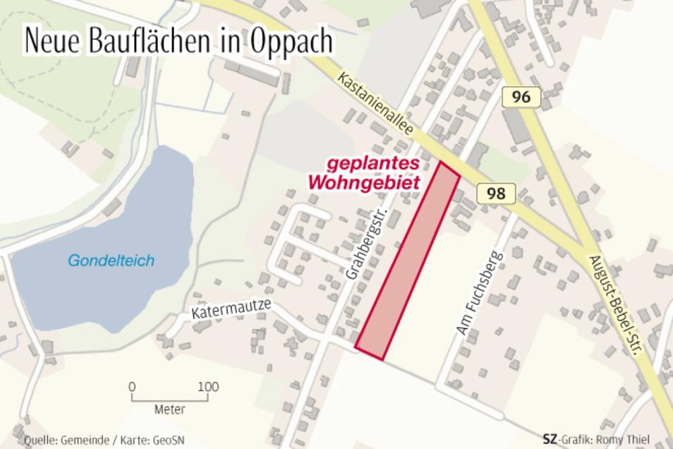 Hier an der Grahbergstraße werden neue Bauflächen für Eigenheime erschlossen.