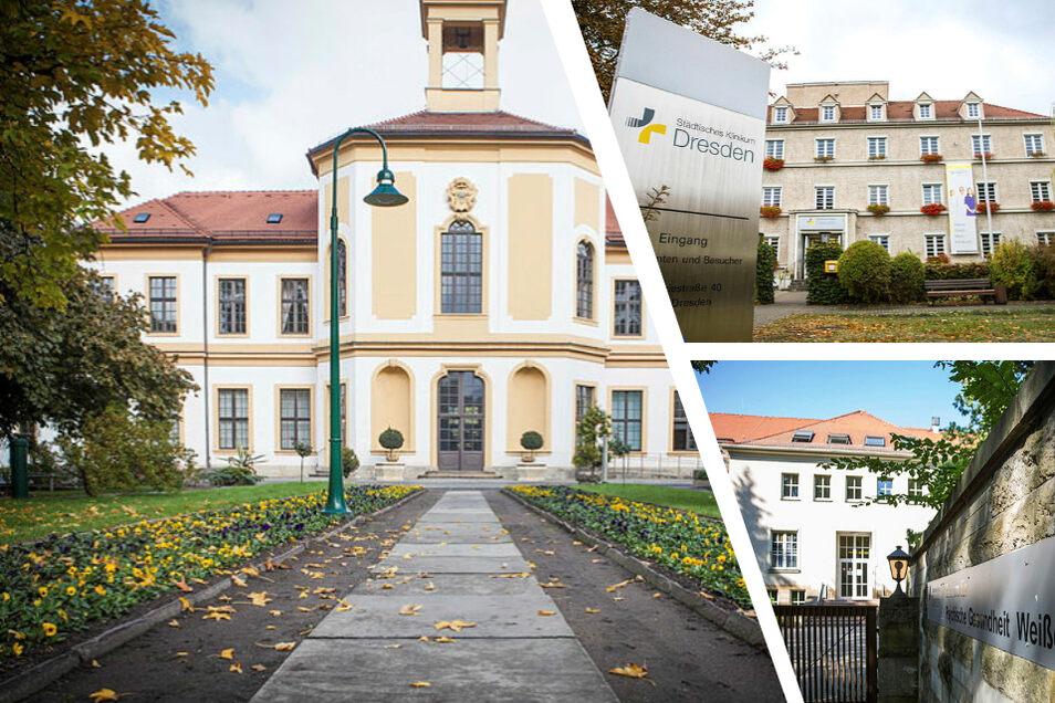 Alle Standorte des Städtischen Klinikums Dresden sollen zwar erhalten bleiben. Einer wird den Plänen zufolge aber nicht mehr als klassisches Krankenhaus genutzt.