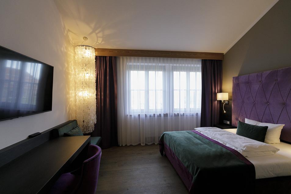 48 Doppelzimmer, darunter auch zwei Studios und eine Suite, stehen zur Verfügung.