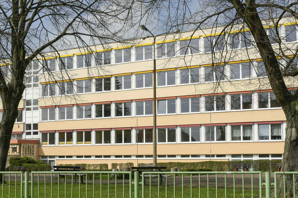 """Die Grundschule """"Am Weinberg"""" in Roßwein war in den vergangenen zwei Wochen im Notbetrieb."""