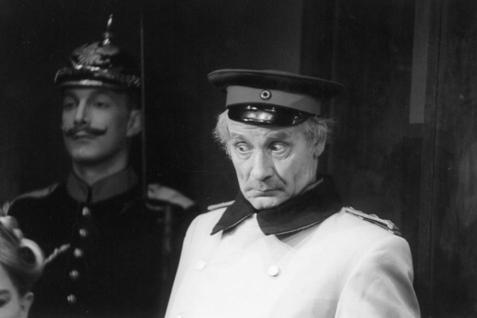 """Der """"Hauptmann von Köpenick"""" gehört zu den bekanntesten Rollen von Detlef Lux."""